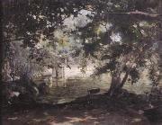 A remembrance of the Villa Borghese,, unknow artist