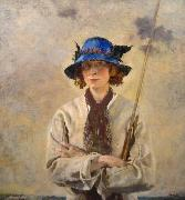 unknow artist Angler oil painting reproduction