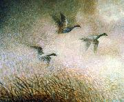 unknow artist flying oil painting reproduction