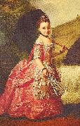 unknow artist Duchess Sophia Frederica of Mecklenburg-Schwerin oil painting reproduction