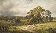 A quiet scene in Derbyshire (oil painting) by George Turner, unknow artist