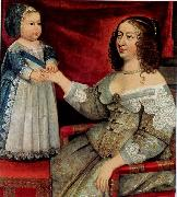 Louis XIV and Anne of Austria
