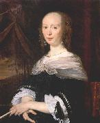 Abraham van den Tempel Portrait of a Lady oil painting reproduction
