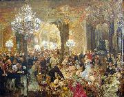 Adolph von Menzel painted oil painting reproduction