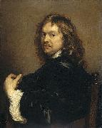 Adriaen Hanneman Self-portrait. oil painting artist