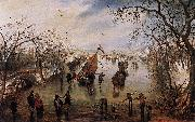 Adriaen Pietersz Vande Venne Winter oil painting reproduction