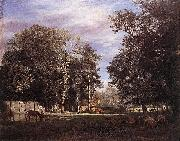Adriaen van de Velde The Farm oil painting reproduction