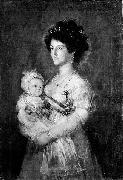 Queen of Etruria and her son Charles of Parma