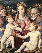 Agnolo Bronzino Holy Family oil painting reproduction