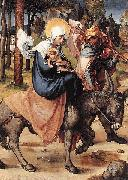 The Flight into Egypt, Albrecht Durer