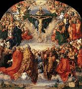 The Adoration of the Trinity, Albrecht Durer