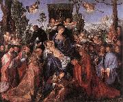 Feast of the Rose Garlands, Albrecht Durer