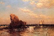 Alfred Thompson Bricher By the Shore oil painting reproduction