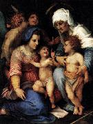 Madonna and Child with St Elisabeth, the Infant St John, and Two Angels, Andrea del Sarto