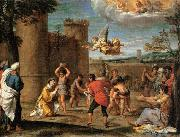 Annibale Carracci The Stoning of St Stephen oil painting reproduction