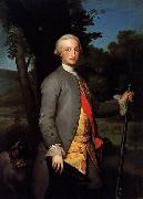 Anton Raphael Mengs Prince of Asturias, Future Charles IV of Spain oil painting reproduction