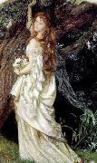Arthur Hughes Ophelia oil painting reproduction