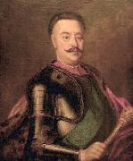 Augustyn Mirys Portrait of Jan Klemens Branicki, Grand Hetman of the Crown oil painting artist