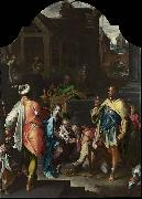 Bartholomeus Spranger The Adoration of the Kings oil painting reproduction