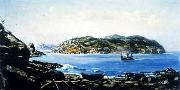 Benedito Calixto Itarare Beach oil painting reproduction