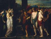 Pylades and Orestes Brought as Victims before Iphigenia, Benjamin West