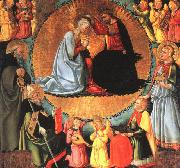 Bicci Di Neri The Coronation of the Virgin oil painting reproduction