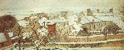 Camille Pissarro Winter oil painting reproduction