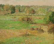 Autumn in Eragny, Camille Pissarro
