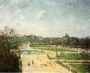 Tuileries Gardens, Afternoon, Sun
