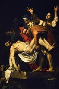 Caravaggio Deposition of Christ oil painting reproduction