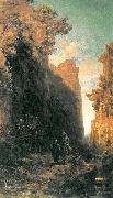 Carl Spitzweg Die Flucht nach agypten oil painting on canvas