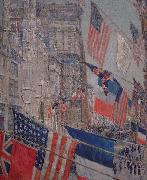 Allies Day, May 1917, Childe Hassam