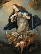 Immaculate Virgin, formerly in the Chapel of Palacio de Penaranda, Spain, Circle of Mateo Cerezo the Younger