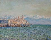 The Fort of Antibes, Claude Monet