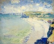 The Beach at Pourville, Claude Monet