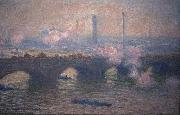 Waterloo Bridge, Claude Monet