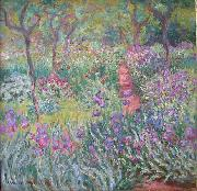 The Artist's Garden at Giverny., Claude Monet