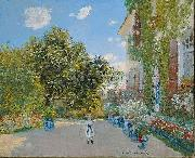 The Artist's House at Argenteuil, Claude Monet