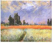 Wheatfield, Claude Monet