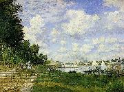 The Basin at Argenteuil, Claude Monet