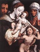 Cornelis van Cleve Holy Family oil painting reproduction