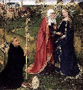 DARET, Jacques Visitation oil painting on canvas