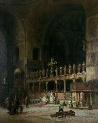 INTERIOR OF ST MARKS VENICE