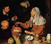 Old Woman Frying Eggs, Diego Velazquez