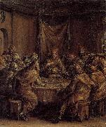 Dirck Barendsz The Last Supper oil painting artist