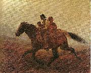 Eastman Johnson Fugitive Slaves oil painting reproduction