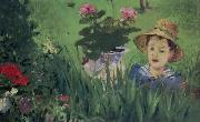 Boy in Flowers, Edouard Manet