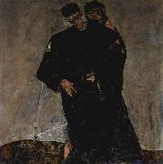 Egon Schiele Hermits oil painting on canvas