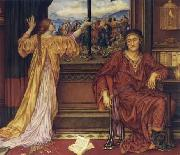 Evelyn De Morgan The Gilded Cage oil painting on canvas