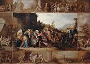 Frans Francken II The Parable of the Prodigal Son oil painting on canvas